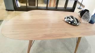포리아 천연 원목 테이블