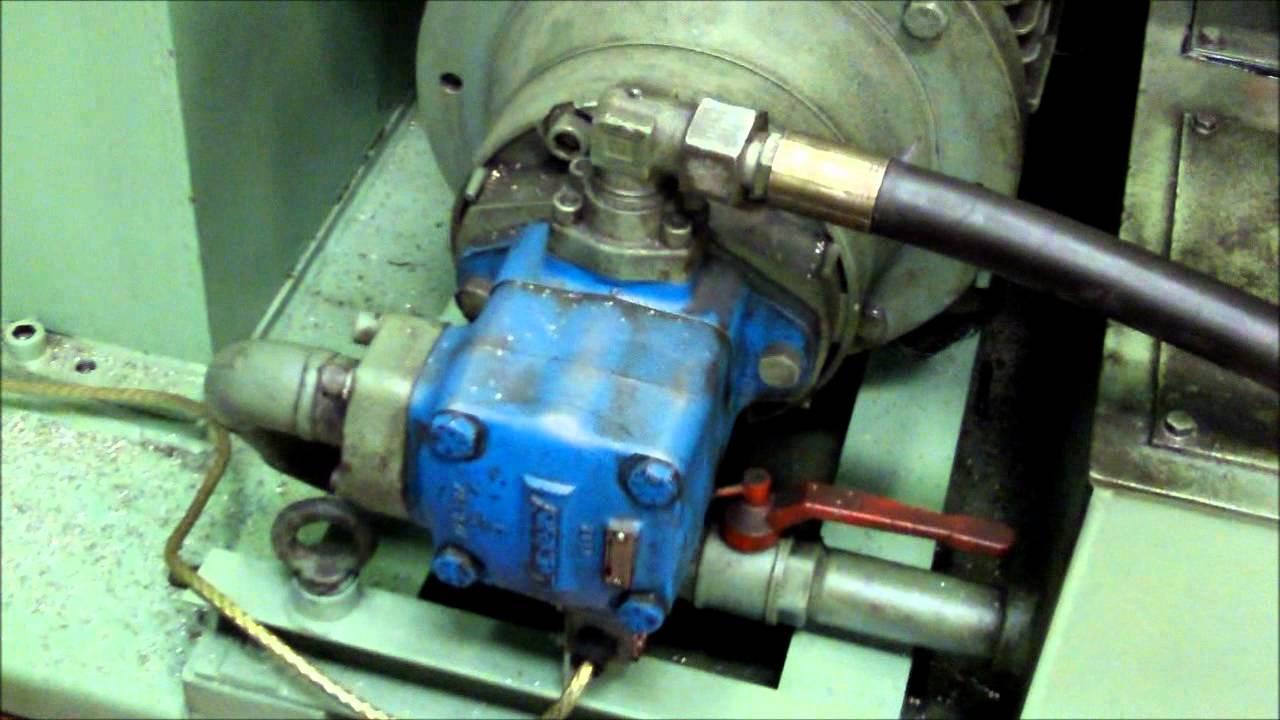 vickers vane pump youtube rh youtube com Vickers Hydraulic Pump Parts Vickers Hydraulic Pump Diagrams