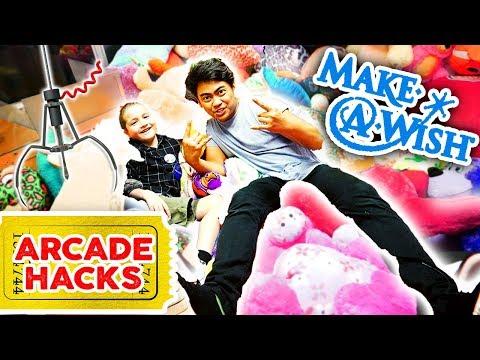 Arcade Hacks (Make-A-Wish Edition!) | Guava Juice