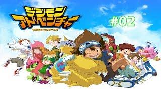 Digimon Adventure PSP #02: Nasce Greymon! PT-BR