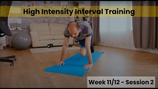 HIIT - Week 11/12 Session 2 (Control)