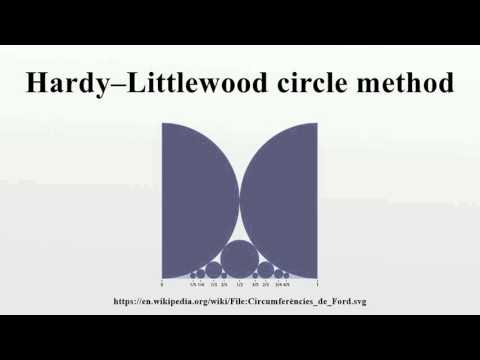 Hardy–Littlewood circle method