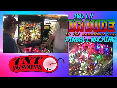 #1066 Bally DR DUDE & HIS EXCELLENT RAY Pinball Machine - TNT Amusements