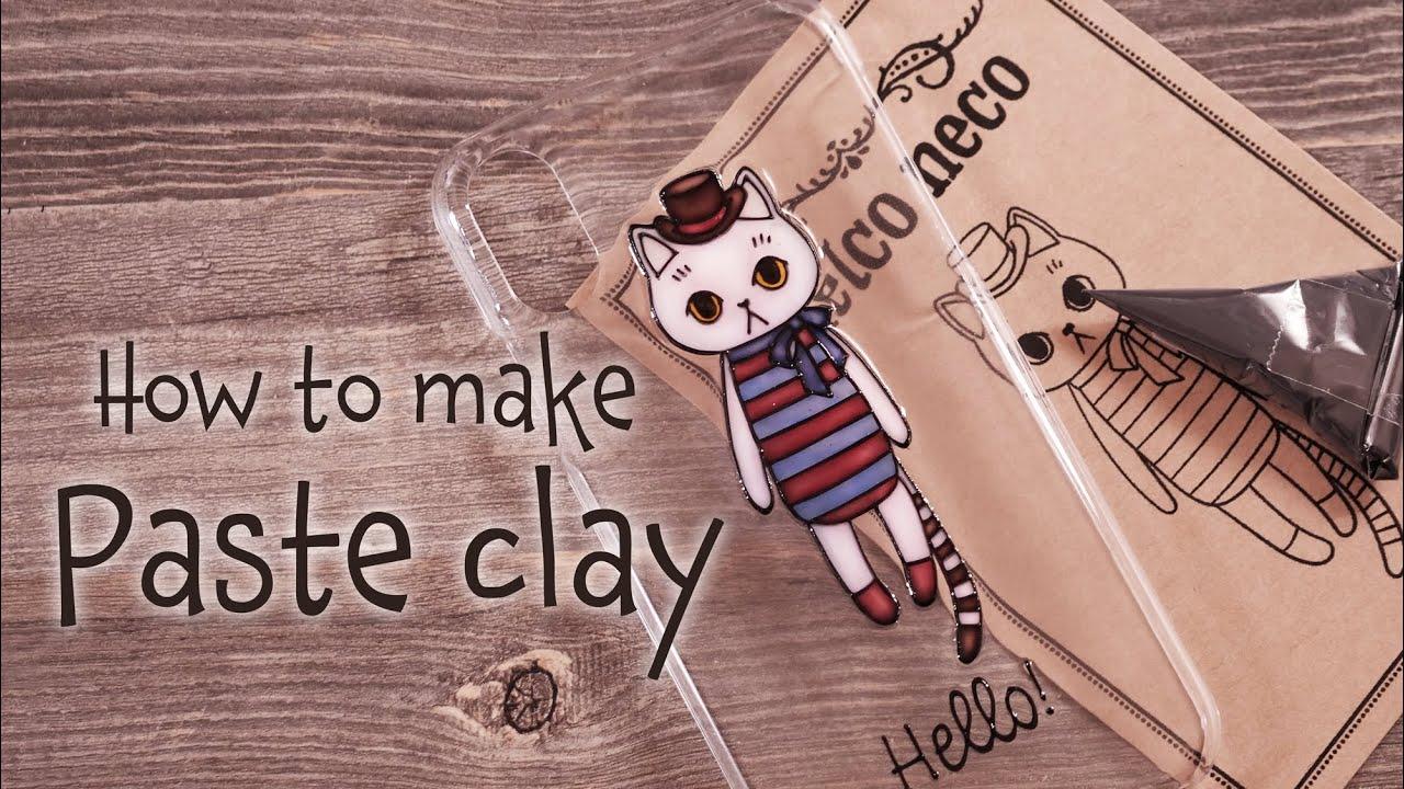 【アイシングクレイ×レジン】アイシングクレイの作り方 DIY How to make icing clay [Icing clay×Resin]