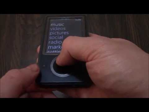 How To Reformat A Microsoft Zune