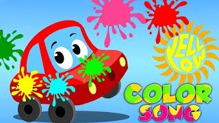 couleurs chanson | Poèmes d'enfants | enfants Chansons | Nursery Rhymes | Learn Colors | Color Song