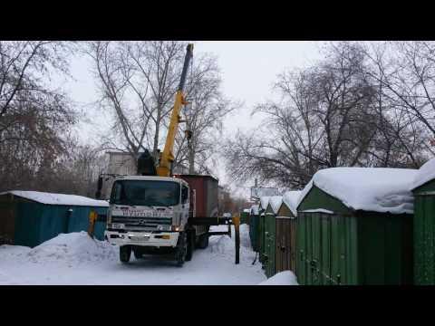 Перевозка гаража воровайкой в Красноярске