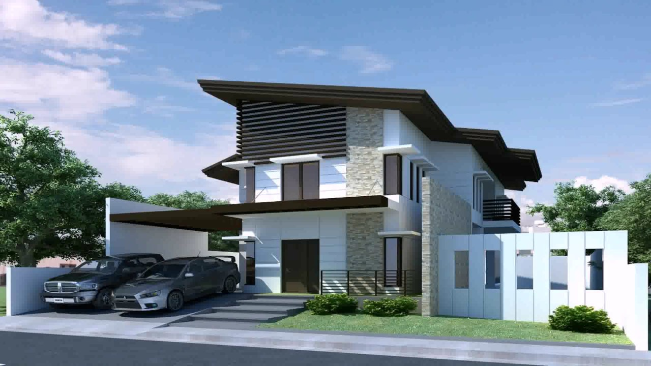 asian contemporary house design in the philippines - Asian Contemporary House Designs