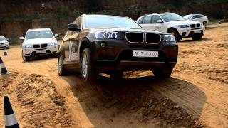 BMW Xdrive in action in the Articulation Challenge
