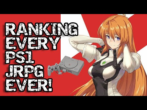 Ranking EVERY PS1 JRPG Ever Made! (With A Tier List)