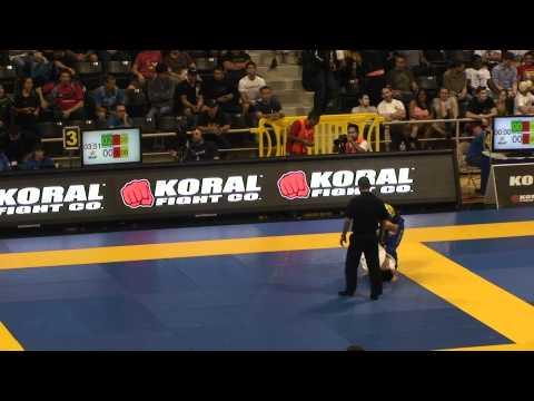 Shibamoto 2012 BJJ Mundials Black Belt Fight
