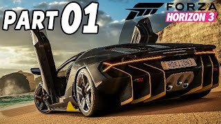 Forza Horizon 3 Gameplay Deutsch Part 1 - Einfach abgehn - Let's Play Forza Horizon German Xbox One