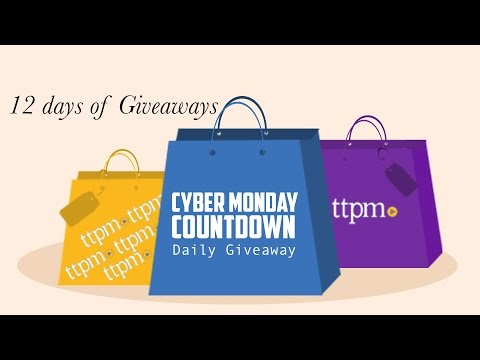 Win prizes every day in the Cyber Monday Countdown Daily Giveaway!