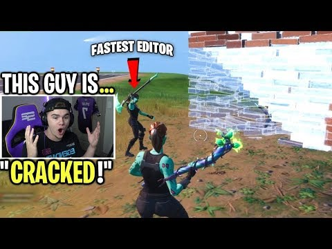 I SPECTATED the fastest editor I've ever seen on Fortnite...