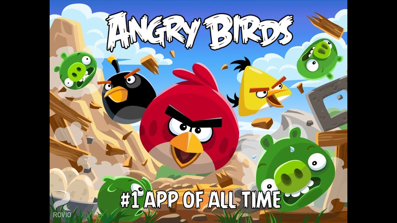 Angry bird piou piou et cochon vert youtube - Cochon angry bird ...