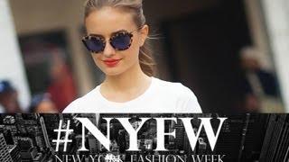Я ♡ Нью-Йорк | встретила звезду, интервью с Tresemme, показ мод.