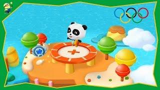 Игра мультфильм Спортивный Панда, прыжки на батуте  Мультики для малышей(, 2016-08-28T08:56:44.000Z)