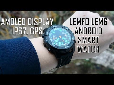AWESOME and POWERFUL SMARTWATCH LEMFO LEM6 (IP67, AMOLED, QUAD-CORE, 16GB, GPS, NANO-SIM)