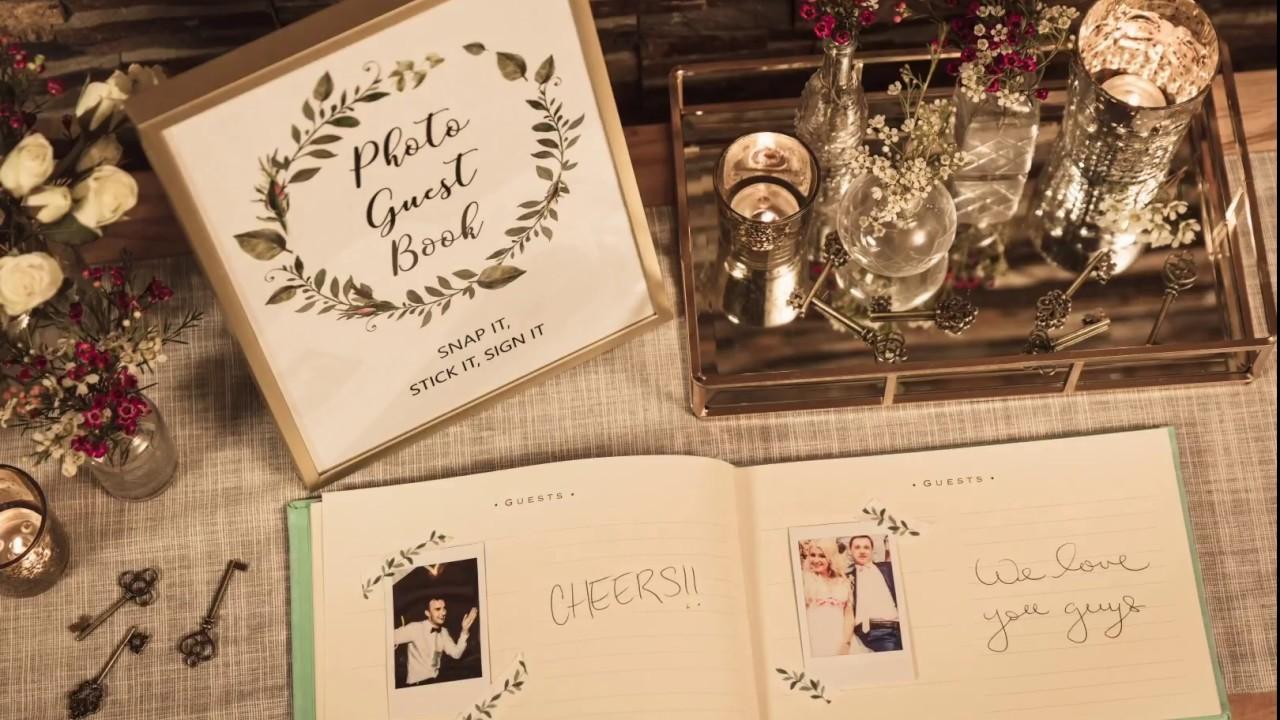 Instax Photos Diy Wedding Guest Book