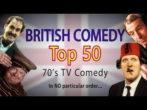 British Comedy Top 50 (70's Edition)