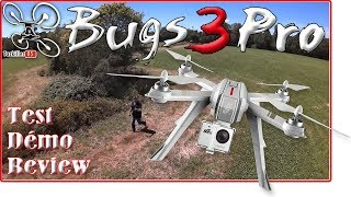 MJX BUGS 3 PRO GPS Drone Review Test Démo / Follow me etc ...
