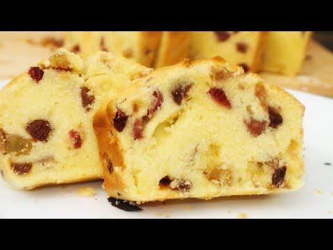 เค้กผลไม้ไม่ใส่เหล้า/Christmas Fruit cake /easyfoodgoodhealthbyAndy