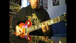JUDAS PRIEST - Desert Plains - Guitar Cover