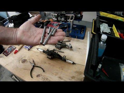 How to install beef tubes on the Wraith AR60 axles