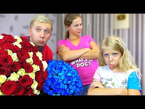 ПАПА Провенился на 8 МАРТА или ГОВОРИТ 24 ЧАСА ДА! Что Попросили МИЛАНА и МАМА?  От Family Box