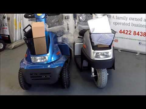 Afikim breeze c3 c4 electric mobility scooter