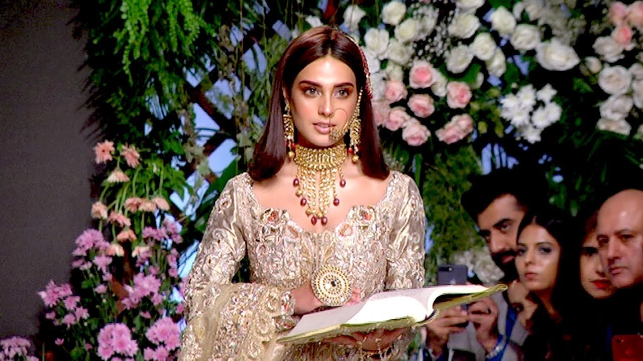 Pfdc Bridal Fashion Week 2018-2019 Best Wedding Dress Bridal Gown