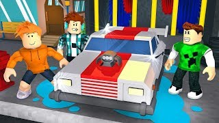 CAR WASH SIMULATOR IN ROBLOX! (Ft. AuthenticGames and Spok)