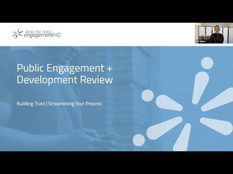 Public Engagement in Development Review