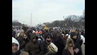 American Pie & Shout at Obama 2009 Inauguration