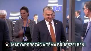 Magyarország a téma Brüsszelben 19-09-16