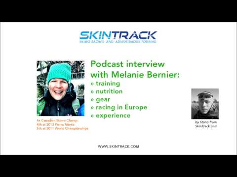 Ski Mountaineering Racing: Interview with Melanie Bernier about training, nutrition, gear...