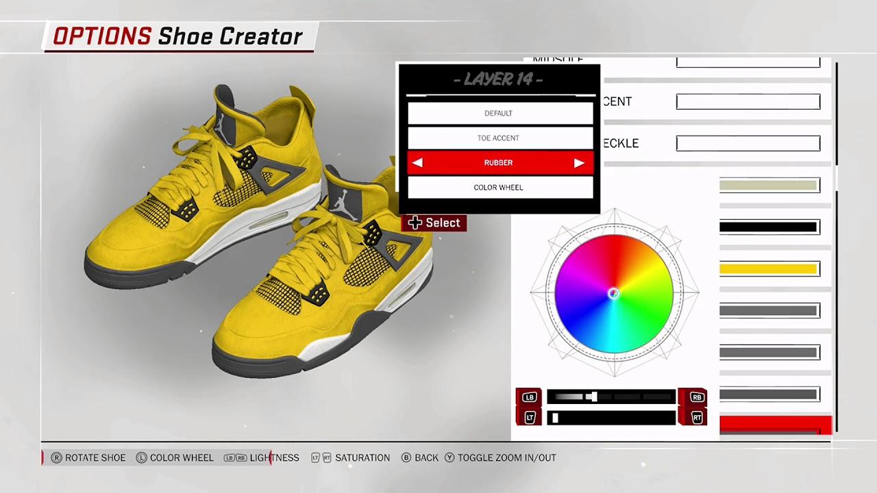 NBA 2K18 Shoe Creator - Air Jordan 4