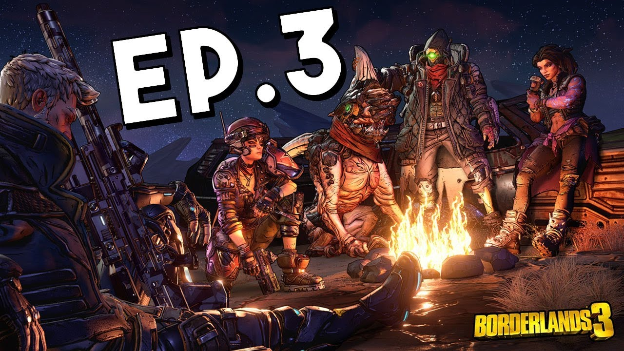 Borderlands 3 Playthrough CO-OP Gameplay w/ Airfisher and Joker | Ep.3 |