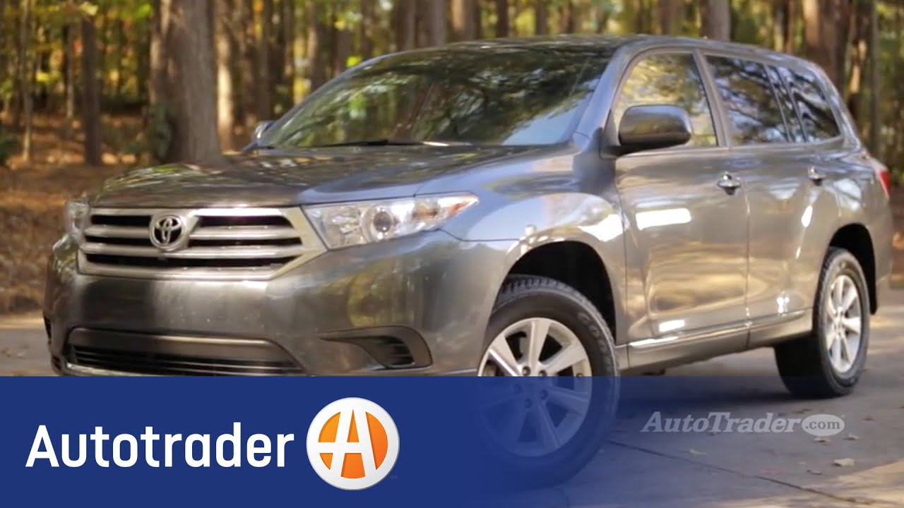 2008 2013 toyota highlander used car review autotrader. Black Bedroom Furniture Sets. Home Design Ideas
