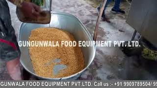 Continuous Dal Namkeen Fryer with Wooden Boiler