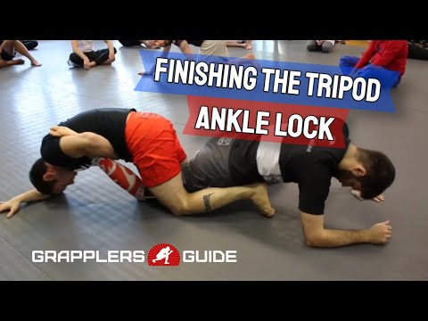 Reilly Bodycomb - Finishing The Tripod Ankle Lock