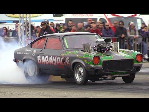 """1972 Chevrolet Vega """"Babayaga"""" PRO ET Drag Race - 1000 HP Brutal Sound"""