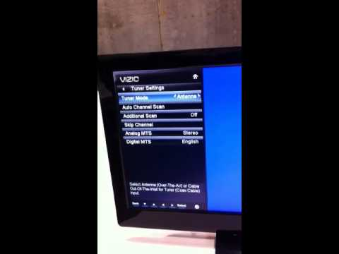 Vizio Channel Scan Youtube