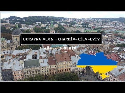 Ukrayna VLOG(5 Gün-Kharkiv,Kiev, Lviv), Trenle Yolculuk ve İlginç Mekanlar
