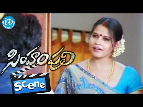 Simham Puli Movie Scenes - Jiiva Flirting With Ramya's Mother || Divya Spandana || Santhanam