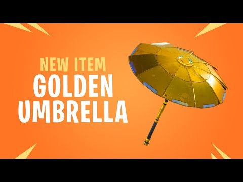 Fortnite - How To Unlock The Golden Umbrella