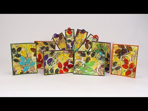 How to Use Art Journal Prompt Cards PART 1 of 2 with Barb Owen - HowToGetCreative.com