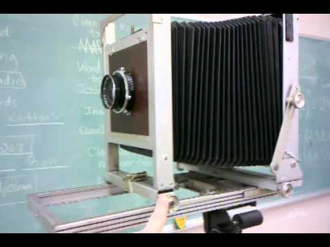 Large Format Photography: Calculating Bellows Extension Factor
