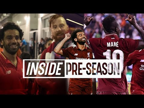 Inside Pre-Season: Liverpool 2-1 Man City | Salah, Sheamus and Trevor Noah in New Jersey