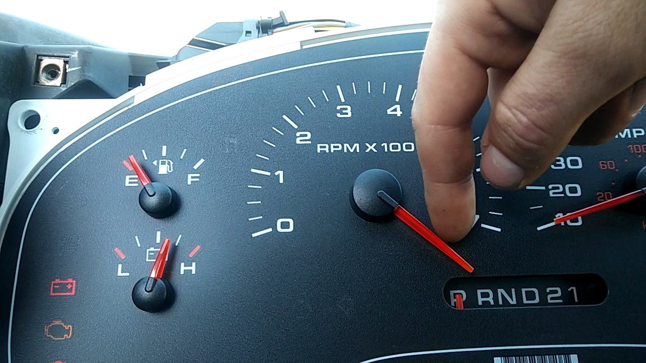 small resolution of f 150 gauge cluster calibration